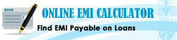 Online EMI Calculator