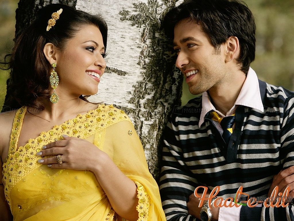 Nakuul Mehta and Amita Pathak