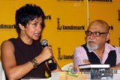 Gul Panag and Pritish Nandy at the Book launch of 'The Quest for Nothing' held at Landmark Infinity Mall Andheri on 12.Oct.2010