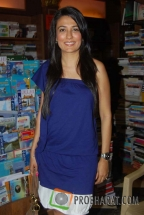 Actress-Mini Mathur at the Book launch of 'The Quest for Nothing' held at Landmark Infinity Mall Andheri on 12.Oct.2010