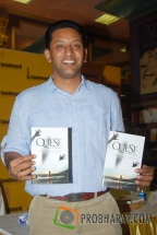 Anurag Anand-Book Writer at the Book launch of &#039;The Quest for Nothing&#039; held at Landmark Infinity Mall Andheri on 12.Oct.2010