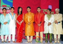 Aishwarya Sakhuja and Ravi Dubey at the Launch ...