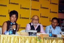Gul Panag, Pritish Nandy and Anurag Anand-Book Writer at the Book launch of 'The Quest for Nothing' held at Landmark Infinity Mall Andheri on 12.Oct.2010