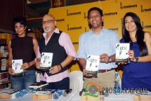 Gul Panag, Pritish Nandy, Anurag Anand-Book Writer and Actress-Mini Mathur at the Book launch of &#039;The Quest for Nothing&#039; held at Landmark Infinity Mall Andheri on 12.Oct.2010