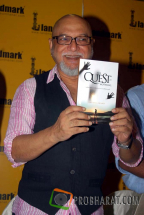 Pritish Nandy at the Book launch of &#039;The Quest for Nothing&#039; held at Landmark Infinity Mall Andheri on 12.Oct.2010