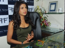 Priyanka Chopra launches Face Factor-The Makeup ...