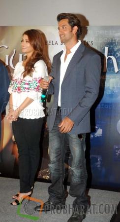 Aishwarya Rai and Hrithik Roshan