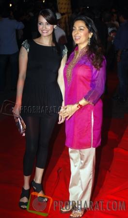 Dia Mirza and Juhi Chawla