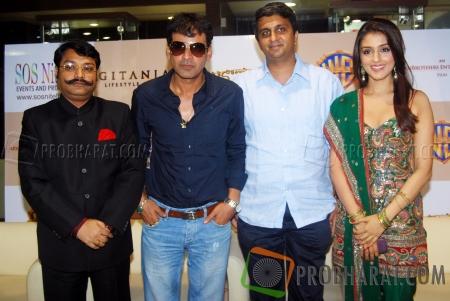 Kunwar Pragy Arya, Manoj Bajpayee, Director-Ajoy and Aarti Chhabria