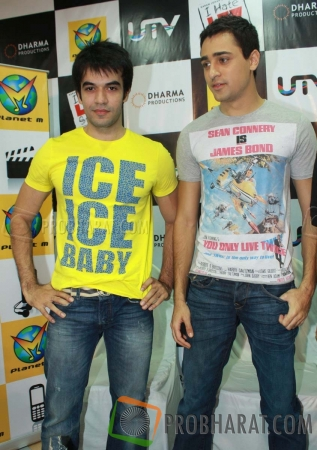 Punit Malhotra  and Imran Khan