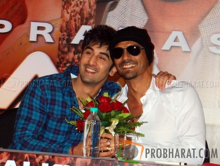 Ranbir Kapoor and Arjun Rampal