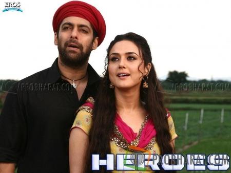 Salman Khan and Preety Zinta