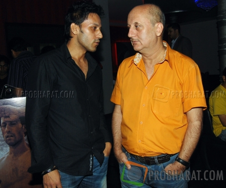 Sartaj Singh Pannu  and Anupam Kher
