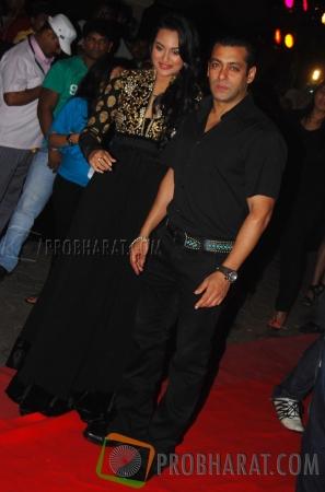 Sonakshi Sinha and Salman Khan
