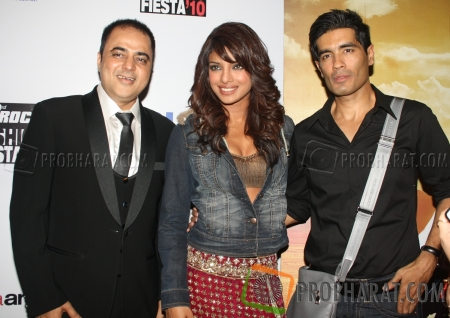 Vijay Thakkar, Priyanka Chopra and Manish Malhotra