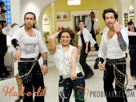 Adhyan Suman with Nakuul Mehta and Amita Pathak