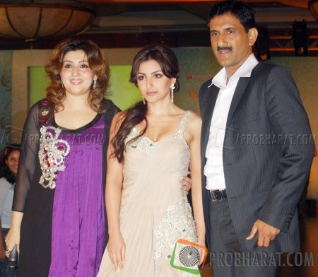 Archana Kochhar, Soha Ali Khan and Sunil Rane