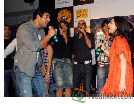 John Abraham, Manasi Scott, Raghu Ram and Pakhi Tyrewala