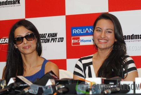 Malaika Arora Khan and Sonakshi Sinha