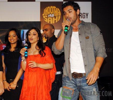 Pakhi Tyrewala, Raghu Ram and John Abraham