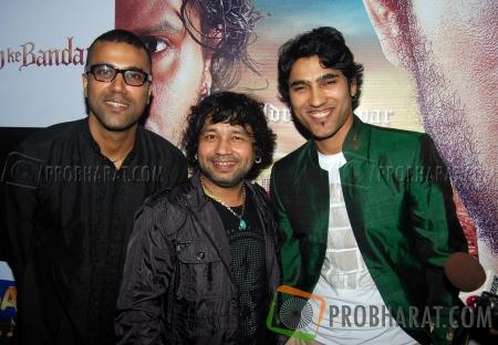 Paresh, Kailash Kher and Naresh