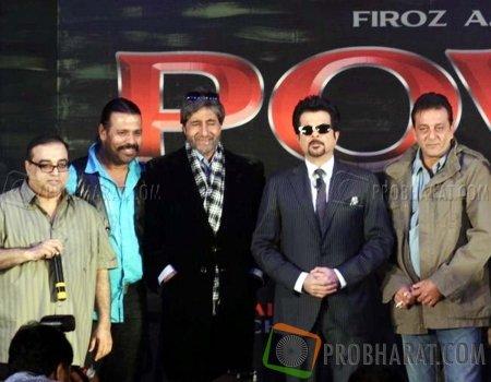 Rajkumar Santoshi, Tinu Verma, Amitabh Bachchan, Anil Kapoor and Sanjay Dutt