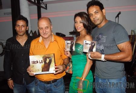 Sartaj Singh Pannu, Anupam Kher and  Iris Maity