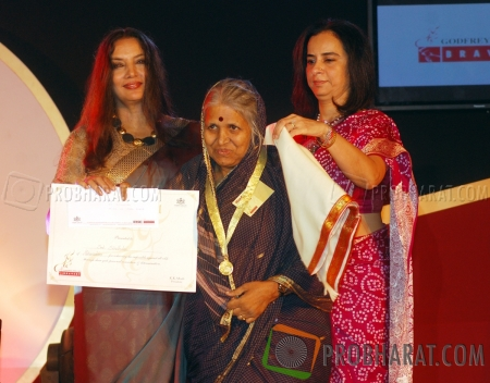 Shabana Azmi and Ms.Sindhutai With Neeta Kapoor
