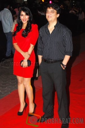 Sophie Chaudhary and Sajid Nadiadwala