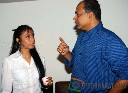 Sunita Gowariker and Ashutosh Gowariker