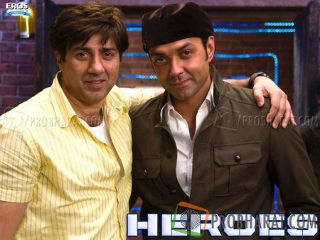 Sunny Deol and Bonny Deol