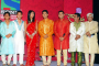 Aishwarya Sakhuja and Ravi Dubey at the Launch Party of Saas Bina Sasural held at J.W.Marriott Juhu Santacruz on 14.Oct.2010