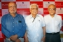 Shyam Benegal,Basu Chatterjee and Amit Khanna at Press Conference of The Mumbai Film Festival 2010 at Hotel-Sun N Sands Andheri on 27.Sep.2010