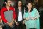 Sharman Joshi, Faruk Kabir and Sharmila Thackeray