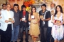T.P.Agarwal, Ashok Pandit, Nirahua, Jaya Prada, Manoj Tiwari and Urvashi Chaudhari