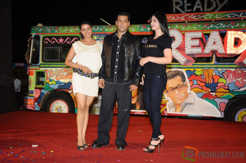 salman khan and zarine khan ready. Actor Salman Khan and actress