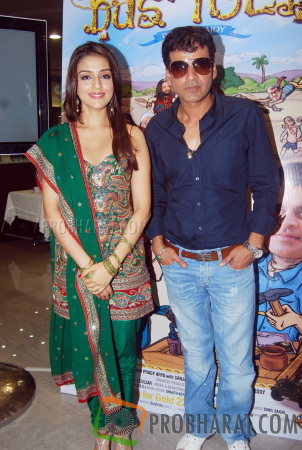 Aarti Chhabria and Manoj Bajpayee