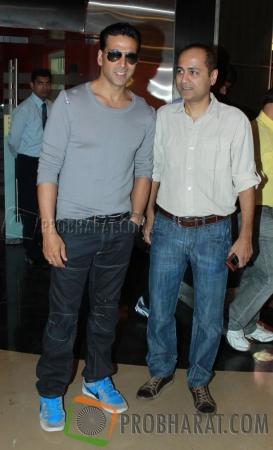 Akshay Kumar and Vipul Shah