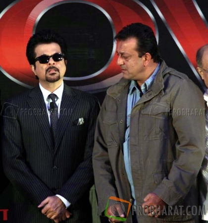 Anil Kapoor and Sanjay Dutt