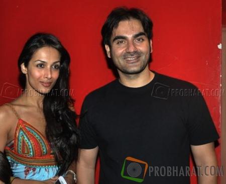 Arbaaz Khan With Wife Malaika Arora Khan