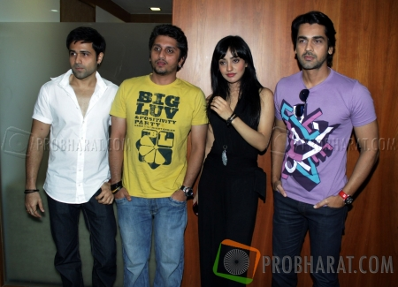 Emraan Hashmi, Mohit Suri, Neha Sharma And Arjan Bajwa