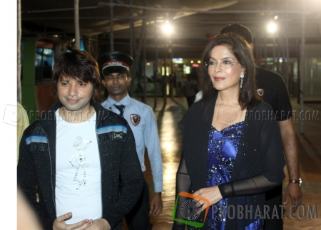 Kapil Sharma and Zeenat Aman