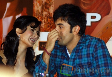 Katrina Kaif and Ranbir Kapoor