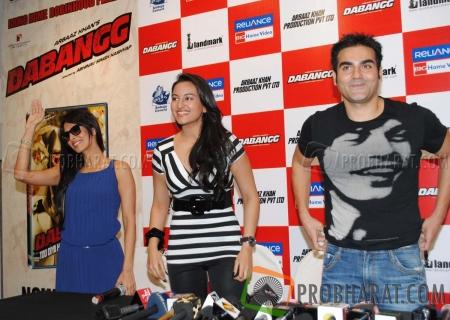 Malaika Arora Khan, Sonakshi Sinha and Arbaaz Khan