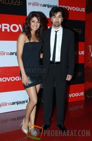 Priyanka Chopra and Ranbir Kapoor