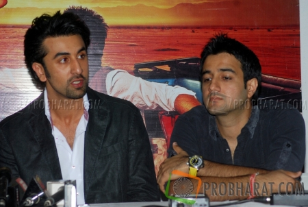 Ranbir Kapoor and Siddharth Anand