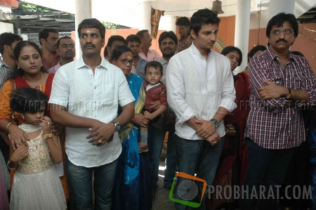 Stills from Vandhan Vendran Movie Launch