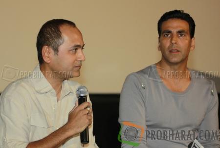 Vipul Shah and Akshay Kumar