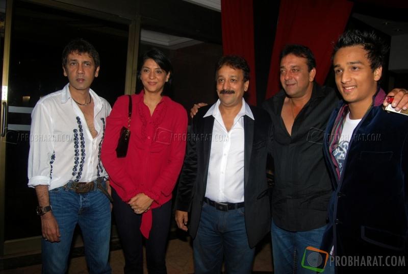 Kumar Gaurav, Priya Dutt and Sanjay Dutt at the M.L.A Baba ...