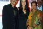 Bharat Godambe and Dorris Godambe With Preity Zinta